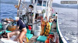 日本の果てまでイってC! 漁船編 前編 芹菜ひなた しぶき梨香 上村みき 保坂真緒