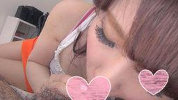 【個人撮影】第18弾 美形で性格の良い女の子が舌で男を味わっているフェラ!【素人動画】