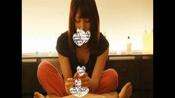 【マッサージ】プレミアムなエロカワ美人がエロい顔してちんこマッサージ+ふぇら!!【個人撮影】